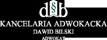 adwokat,kancelaria Dawid Bilski